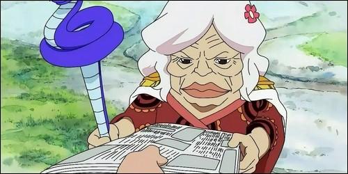 L'ancienne impératrice des Amazones, Grand Mère Nyon sait se servir du haki.