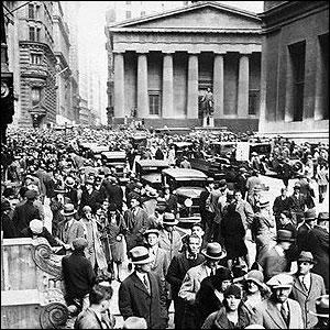 Quand eu lieu le krach boursier de Wall Street, à New York (le jeudi noir) ?