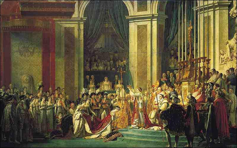 Et enfin quand Napoléon fut-il couronné empereur ?