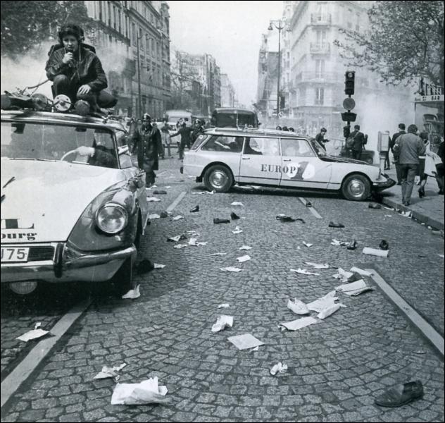 Quand ont eu lieu les révolutions des étudiants en France ?