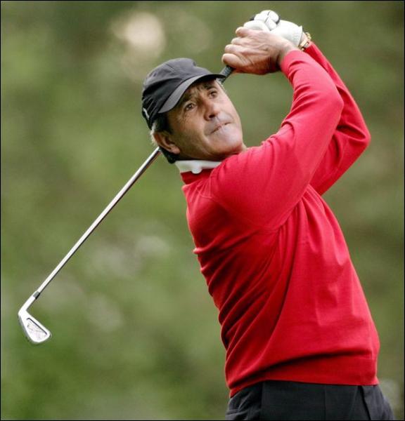 Un des plus grands golfeurs ... .