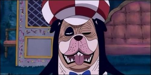 Quel est le nom de ce zombie, que l'on aperçoit sur Thriller Bark, et qui récupère l'ombre de Sanji ?