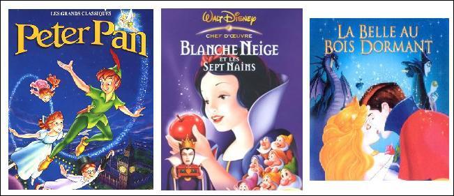 Quel est le point commun de ces trois Walt Disney ?