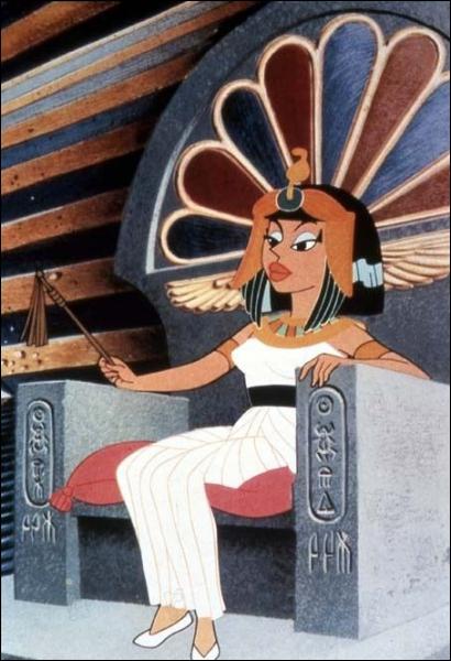 Puissante reine d'Égypte :