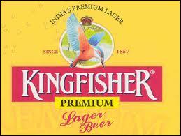 La marque de bière indienne 'Kingfisher' n'a pas encore sponsorisé...