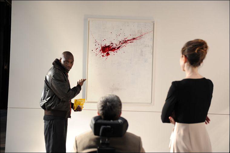 A quel prix Philippe réussit-il à faire vendre le tableau que Driss a lui-même peint ?