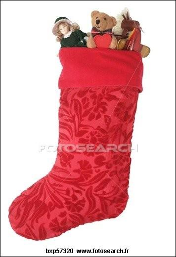 Je suis un vêtement qu'on suspend à la cheminée à Noël. Que suis-je ?