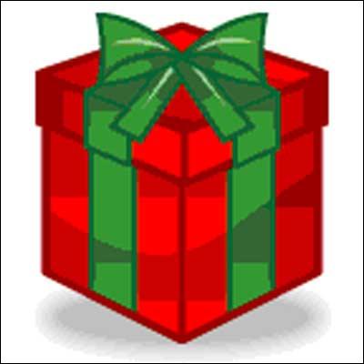Je suis une boîte dans laquelle on met un présent et que l'on donne à quelqu'un. Qui suis-je ?