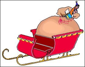 Je suis le véhicule qui transporte le père Noël et ses jouets en faisant le tour du monde en une nuit. Que suis-je ?