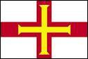 Ce drapeau appartient à une île Anglo-Normande. Quelle est cette île ?
