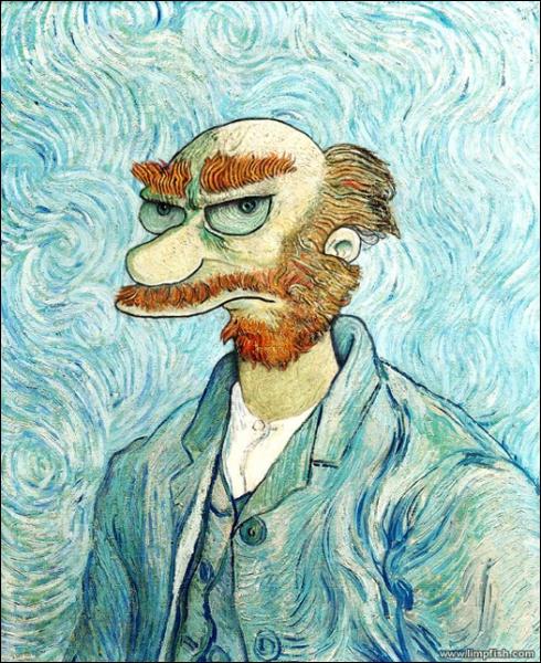 Souvent Quizz Les Simpson dans les oeuvres d'art - Quiz Art, Oeuvres IV03