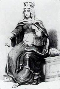Berthe au ''grand pied'' (maman de Charlemagne) s'appelait ainsi car...