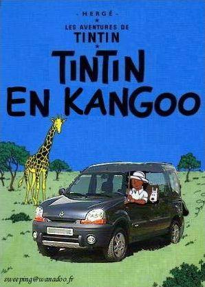 On a détourné Tintin