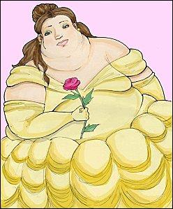 Qui est cette princesse qui a pris un peu de poids ?