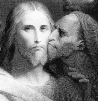 'Judas' fut l'apôtre qui trahit Jésus, mais lorsque c'est un nom commun, il s'agit :