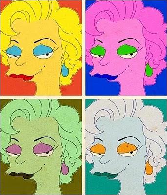 Pour quel peintre cette Marilyn Simpson a-t-elle posé ?