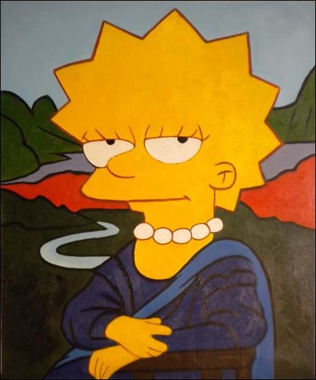 Qui Lisa s'amuse-t-elle à imiter ?