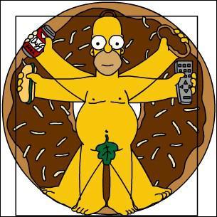Qui est représenté ici par Homer Simpson ?