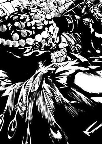 Comment s'appelle ce shinigami qui se demande où est passé Ryûk sur la première page du chapitre ?