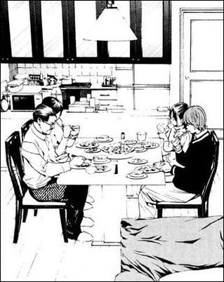 Lors du repas familial, quel indice, qui découle directement des statistiques recueillies par la police, le commissaire révèle-t-il à son fils ?