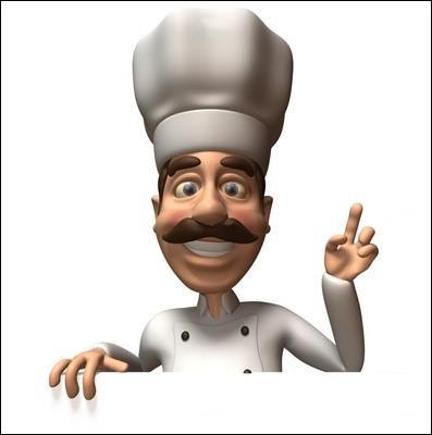 Je suis un artiste culinaire, je suis...