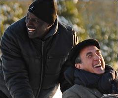 Lorsque Philippe embauche le personnage joué par Omar Sy, il dit que ce dernier ne tiendra pas :