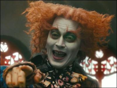 Film sorti en 2010, réalisé par Tim Burton. Depp joue le rôle du Chapelier fou.