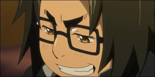 Avec quelle arme Kôta Hirano aide Saya Takagi à sortir de l'école au début de l'histoire ?