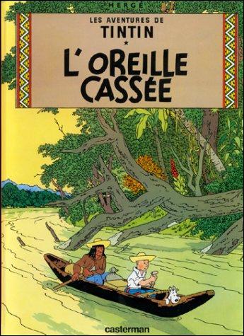 ''L'Oreille cassée'' : Près du fétiche arumbaya, le gardien du musée fredonne une mélodie extraite de...