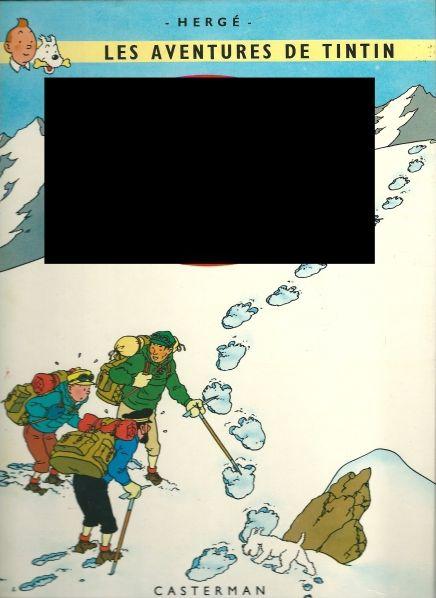 Retrouvez le nom des albums de Tintin !