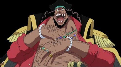 One Piece : Barbe Noire et ses hommes