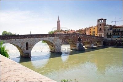 Quel est le nom du fleuve qui prend sa source aux limites de la Suisse et de l'Autriche et se jette dans l'Adriatique après avoir arrosé Vérone ?