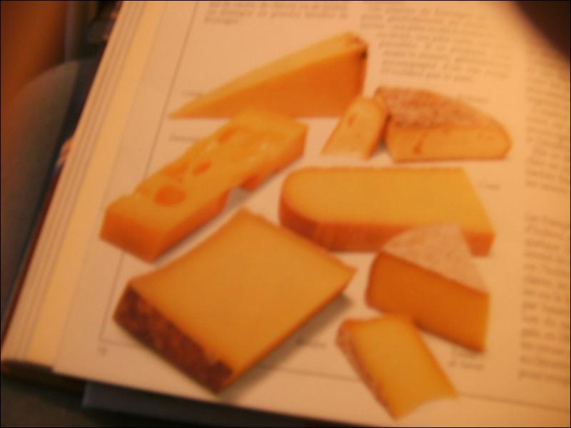 Un de ces fromages n'est pas fabriqué avec du lait de vache. Lequel ?