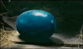 Où Eragon trouve-t-il l'oeuf bleu ?