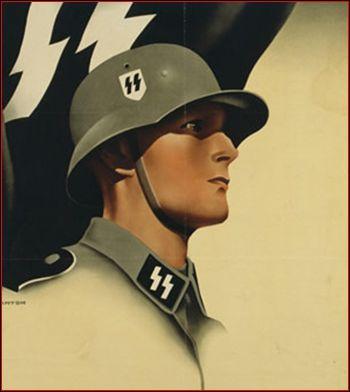 Comment s'appelait la troupe d'élite de l'armée politique d'Hitler ?