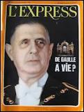 Qui était l'adversaire du général de Gaulle au 2ème tour des présidentielles de 1965 ?