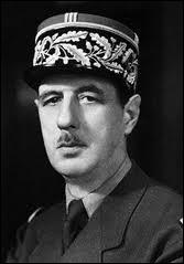Quel était le grade militaire de Charles de Gaulle (1890-1970) ? (Il a acquis cette distinction en 1940 en pleine débacle)