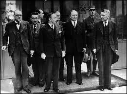 Quelle était sa fonction dans le gouvernement Reynaud juste avant l'arrivée au pouvoir du maréchal Pétain ?
