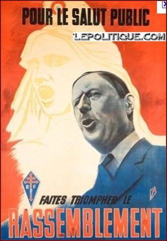 Quel mouvement politique fonde-t-il en 1947 ?