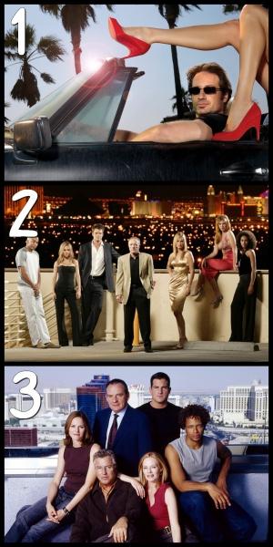 Laquelle de ces séries ne se déroule pas à Las Vegas ?