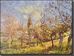 Qui a peint 'Verger au printemps' ?