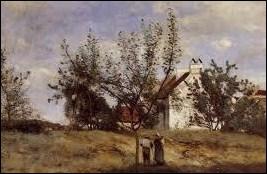 Qui a peint 'Un verger en période de récolte' ?