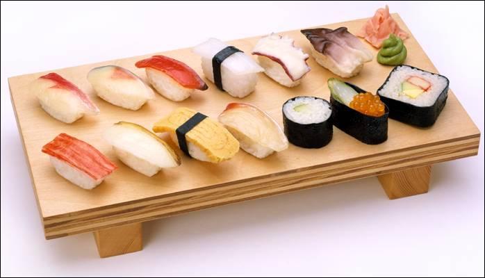De quel pays provient le sushi ?