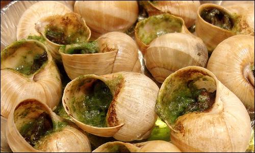 Où mange-t-on les escargots ?