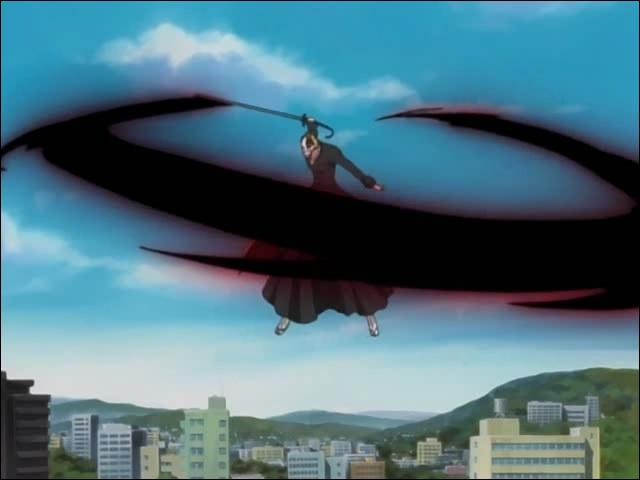 Le Getsuga Tenshô est une attaque utilisée uniquement par Ichigo.