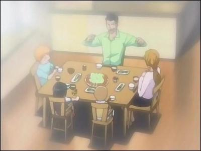 À la suite du premier combat d'Ichigo en tant que Shinigami, son père et ses soeurs ont tout oublié. Il reste cependant un trou dans la maison. Selon eux, quelle en est l'origine ?