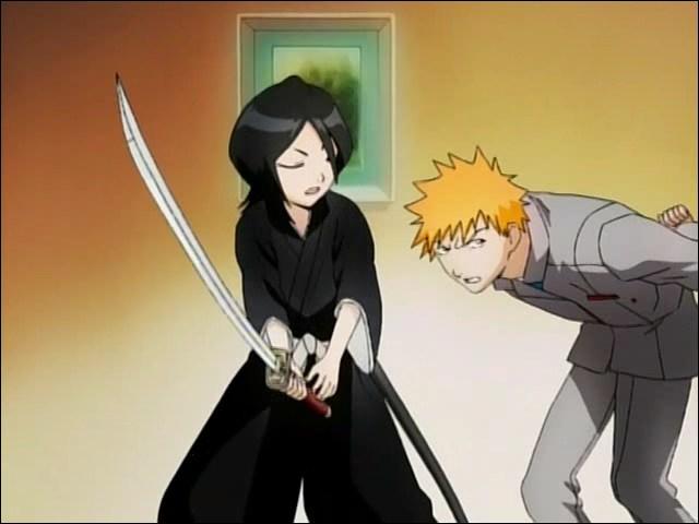 De quelle famille de noble fait partie la jeune Shinigami que rencontre Ichigo ?