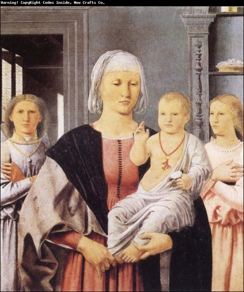 Qui a représenté 'La Madone de Senigallia' ?