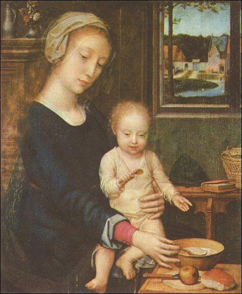 Et cette étonnante ' Vierge à la cuillère' ?