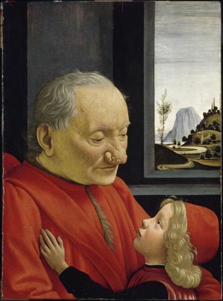 Et ce 'Portrait d'un vieillard et d'un jeune garçon' ?